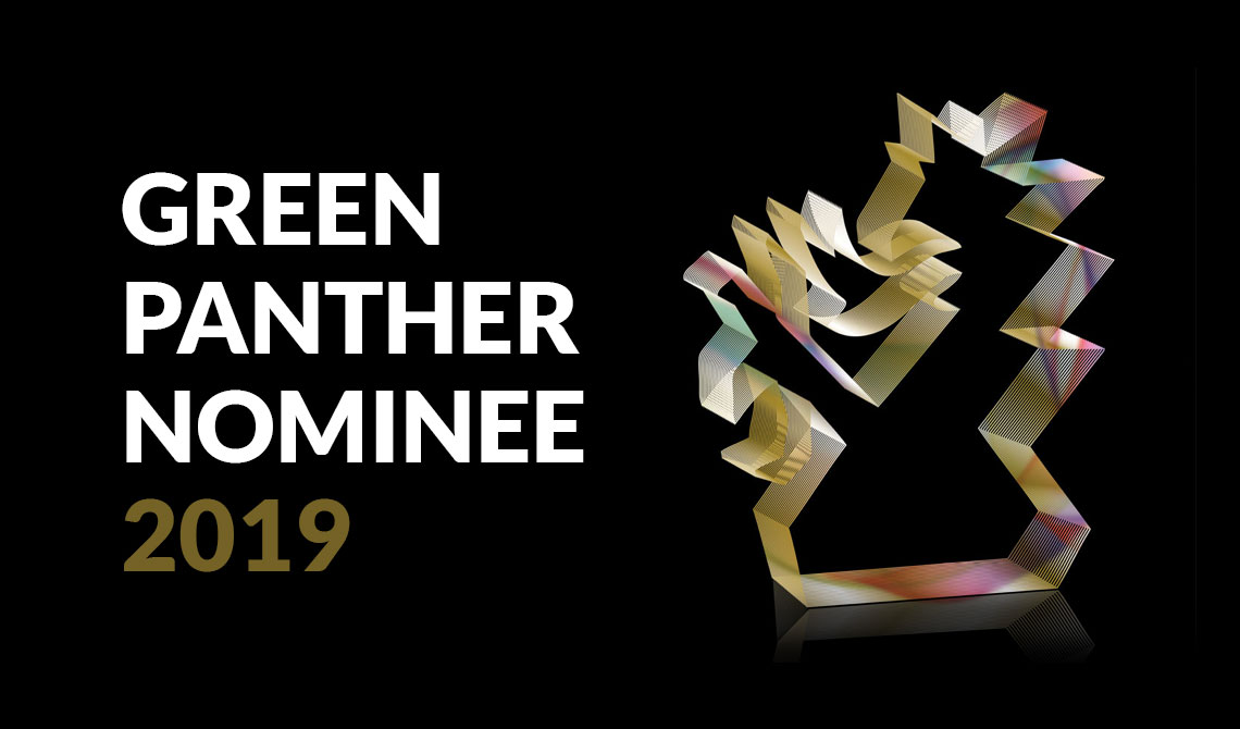 infect werbeagentur 2 x für Green Panther 2019 nominiert!